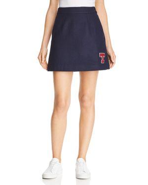 Tommy Jeans Logo-Patch Skirt