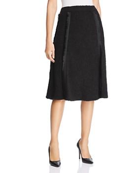 Donna Karan - Bouclé A-Line Skirt