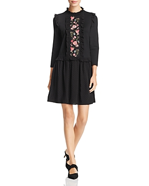 kate spade new york Floral-Embroidered Dress