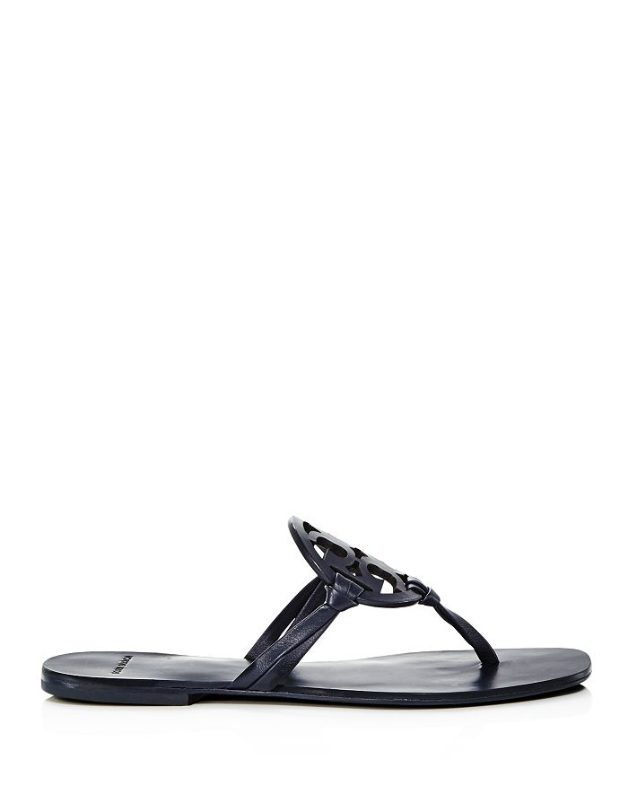 68d7488a96e78b Tory Burch Women s Miller Square Toe Leather Thong Sandals ...