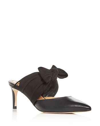 Tory Burch - Women's Eleanor Pointed-Toe Mules