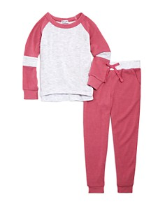 Splendid - Girls' Sweater & Jogger Pants Set - Little Kid