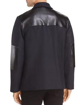 A.P.C. - Wool & Leather Donkey Jacket
