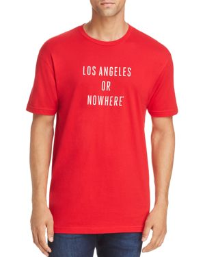 KNOWLITA La Or Nowhere Tee in Red/White