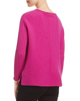Eileen Fisher - Cashmere Directional-Rib Sweater - 100% Exclusive