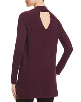 Eileen Fisher - Cashmere Mock-Neck Tunic Sweater - 100% Exclusive