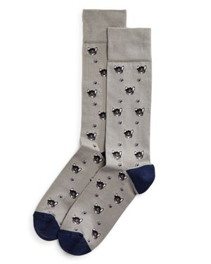 The Men's Store at Bloomingdale's Frenchie Dogs Socks - 100% Exclusive