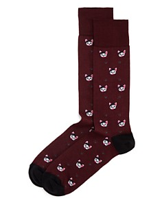 The Men's Store at Bloomingdale's Frenchie Dogs Socks_0