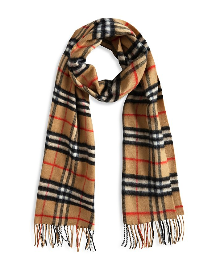cheap for discount great quality wholesale outlet Vintage Check Cashmere Scarf