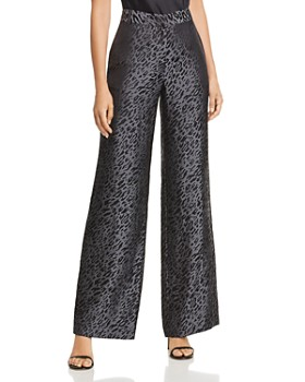 Equipment - Arwen Leopard Wide-Leg Pants