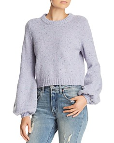 MILLY - Balloon-Sleeve Sweater
