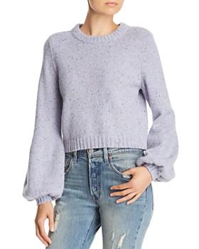 MILLY - Balloon-Sleeve Sweater