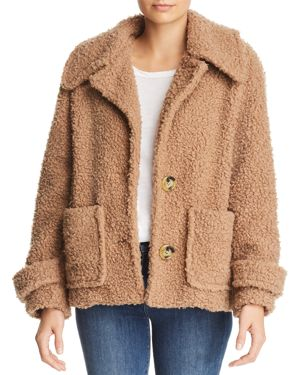 So Soft Cozy Peacoat, Brown