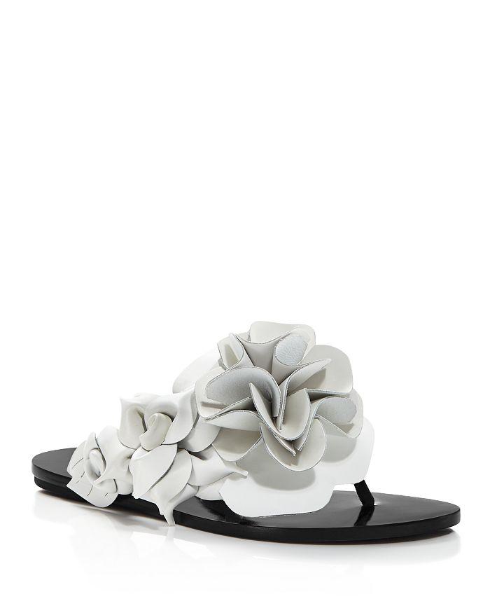 9d1b7535b86 Sophia Webster - Women s Jumbo Lilico Flower Open Toe Leather   Suede Slide  Sandals