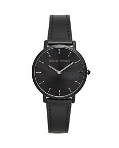 Rebecca Minkoff - Major Leather Watch, 35mm