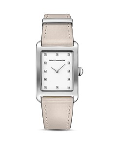 Rebecca Minkoff - Moment Leather Watch, 26.5mm
