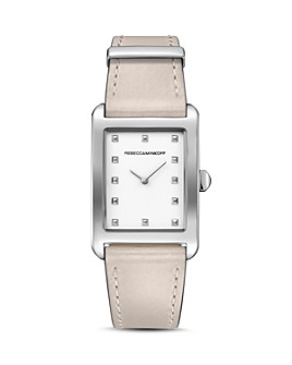 Rebecca Minkoff - Moment Leather Watch, 26.5mm