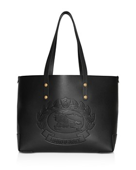6687b7077db9 Burberry - Small Embossed Crest Leather Tote ...