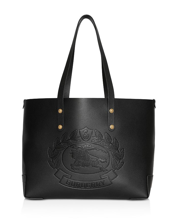 f5e95479cf3d Burberry - Small Embossed Crest Leather Tote