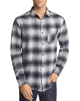 12a820c156022 Original Penguin - Plaid Flannel Regular Fit Shirt ...