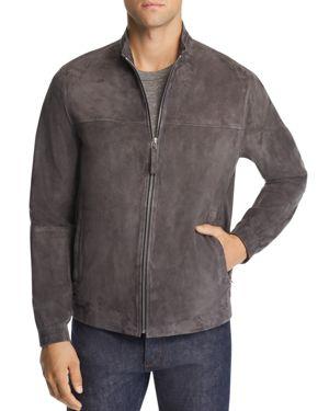Tremont Suede Jacket in Asphalt