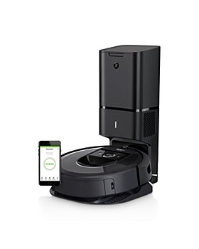 iRobot - Roomba® i7+ Wi-Fi® Connected Robot Vacuum with Automatic Dirt Disposal (7550)