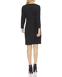 VINCE CAMUTO - Ruched-Sleeve Dress