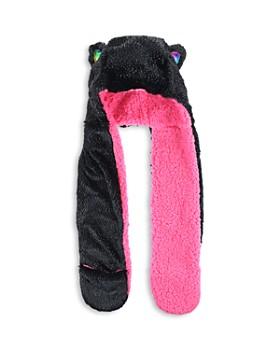Capelli - Girls' Rainbow Cat Critter Hood