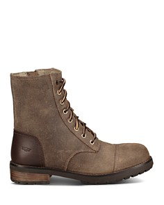 UGG® - Women's Kilmer Round Toe Leather & Sheepskin Boots