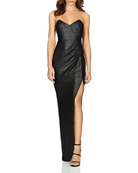 Nookie - Adele Strapless Sequined Gown