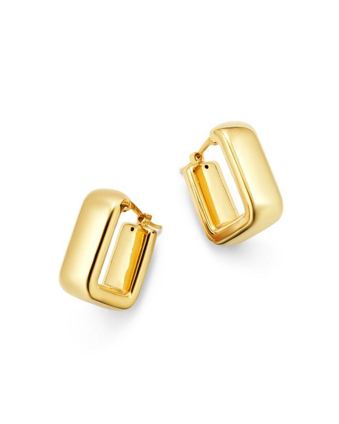 Bloomingdale's Square Hoop Earrings in 14K Yellow Gold - 100% Exclusive    Bloomingdale's