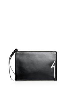 Giuseppe Zanotti - Leather Logo Wristlet