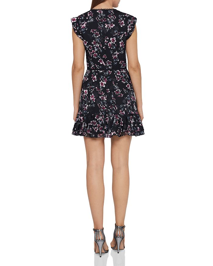 51e3cd28fc5 REISS - Alexandra Floral Burnout Mini Dress