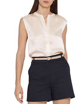 REISS - Lila Silk Top