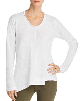 Wilt - V-Neck Asymmetric Cotton Tee