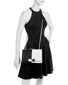 Salvatore Ferragamo - Vara Medium Color-Block Leather Shoulder Bag