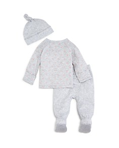 Bloomie's - Girls' Take Me Home Shirt, Footie Pants & Hat Set - Baby