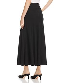 Donna Karan - Sweater-Knit Flounce Maxi Skirt