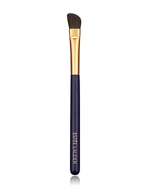 What It Is: A tapered, angled brush for base color and definition. What It Does: This tapered, angled brush sweeps on powder eyeshadow for all-over base application plus definition on the outer lid and crease. Designed with direction from top makeup artists around the globe. Manufactured and precision-trimmed with meticulous care. Wooden handles are short and lightweight, allowing for even, effortless application. How To Use It: Caring for your brush: - We recommend you clean your brush once a w