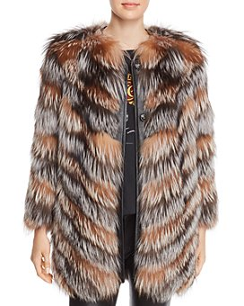 Maximilian Furs - x Zac Posen Fox Fur Coat - 100% Exclusive