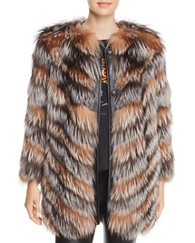 Maximilian Furs - x Zac Posen Fox Fur Coat - 100% Exclusive