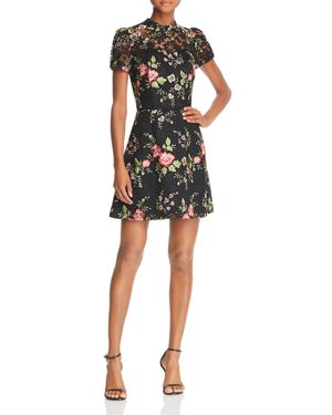 Adelyn Rae Embroidered Lace Dress