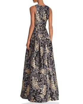 Aidan Mattox - Floral Jacquard Ball Gown - 100% Exclusive