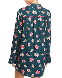 Jane & Bleecker New York - Printed Flannel Sleepshirt
