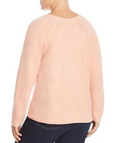 Eileen Fisher Plus - Textured Raglan Sweater