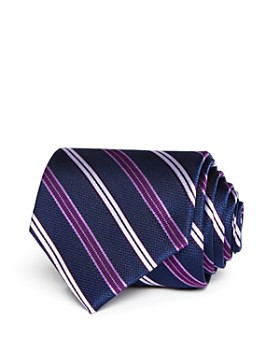 80401ba61 The Men's Store at Bloomingdale's - Medium Track Stripe Wide Tie - 100%  Exclusive