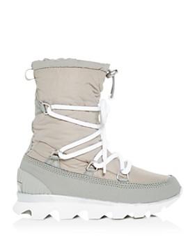 Sorel - Women's Kinetic Waterproof Cold Weather Platform Boots