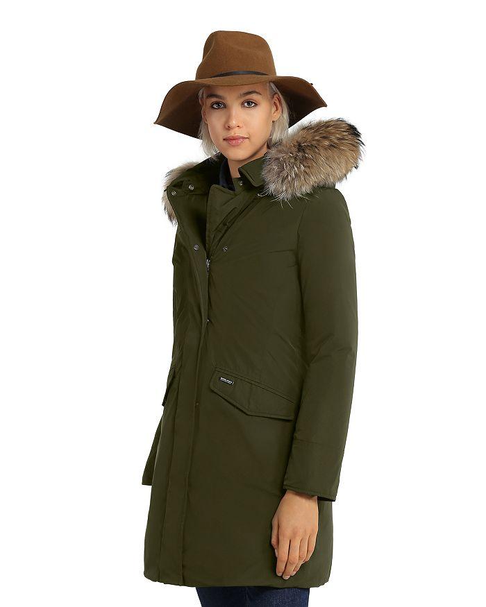 WOOLRICH JOHN RICH & BROS - Modern Vail Fur Trim Coat - 100% Exclusive