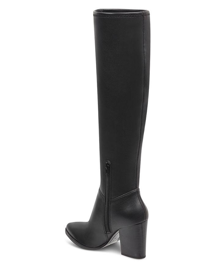 7a9f4580ffd Marc Fisher LTD. - Women s Anata Round Toe Tall Leather High-Heel Boots