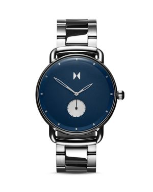 Mvmt Revolver Blue Dial Watch, 47mm